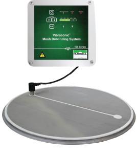 Vibrasonics system for ultrasonic vibro sifter