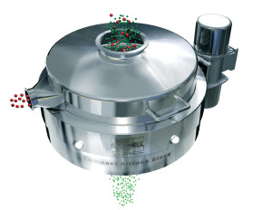 Vibro sifter for screening pharmaceutical powders