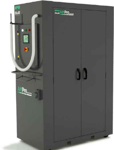 additive manufacturing sieving machine