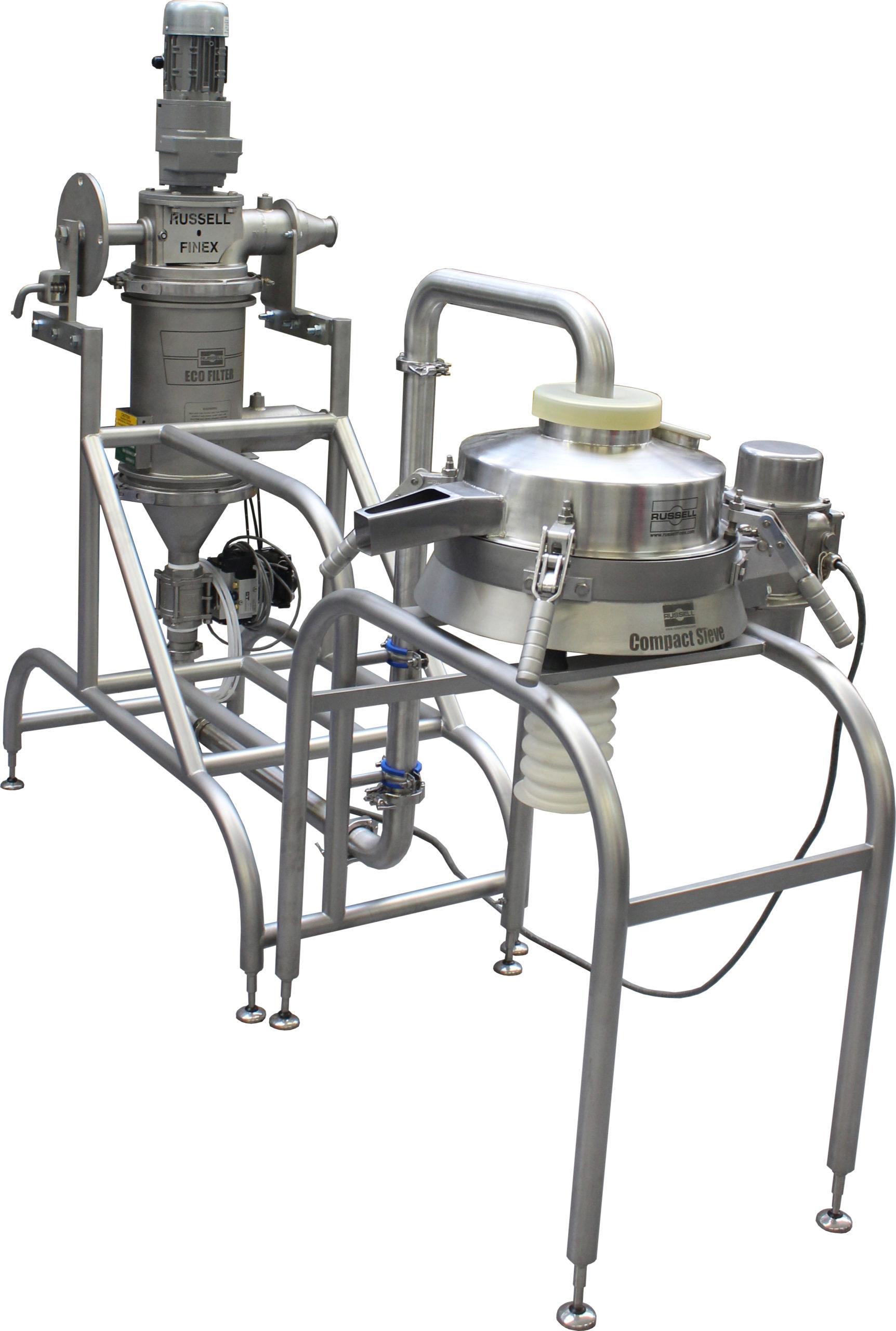 Vibrovagli e filtri autopulenti industriali personalizzati